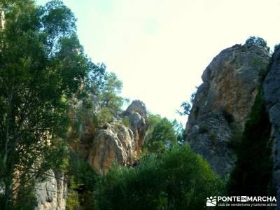 Hoz del Río Escabas - Serranía de Cuenca (Senderismo refrescante);rutas sierra norte madrid excurs